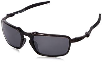oakley polarized goggles  oakley mens badman oo6020-07