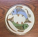 El Palomar Tonala Tile or Trivet - Ken Edwards, Mexican Pottery, Fish