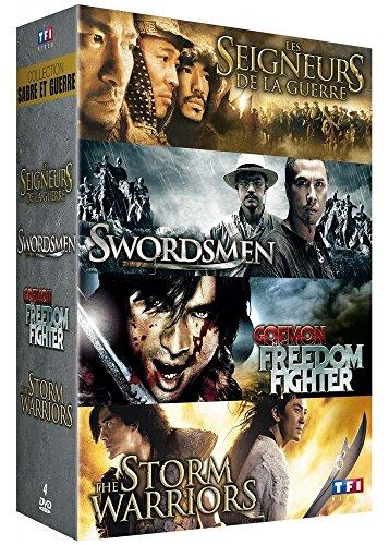 collection-sabre-et-guerre-les-seigneurs-de-la-guerre-swordsmen-goemon-the-freedom-fighter-the-storm