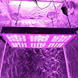 MEIZHI Reflector-Series 900W LED Grow Light Lamp Panel Full Spectrum for Indoor Plants Hydroponics Growing Veg and Flower