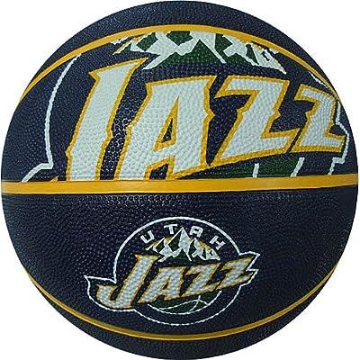 NBA-CRSD-P Spalding NBA Courtside Team Outdoor Rubber Basketball