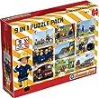 Sam Le Pompier - 9 Puzzles en 1 Pack (2x12 pi�ces, 2x24 pi�ces, 3x35 pi�ces, 2x50 pi�ces)