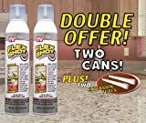 FLEX SHOT Clear - As Seen On TV - 2 pack special $19.99 per JUMBO can + 2 extension tubes