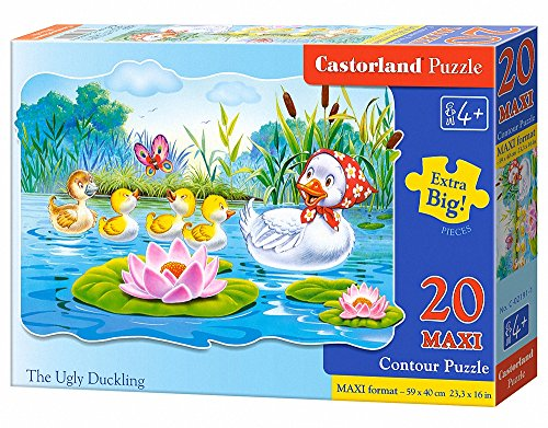 Jigsaw-Puzzle-20-Maxi-Pieces-Ugly-Duckling