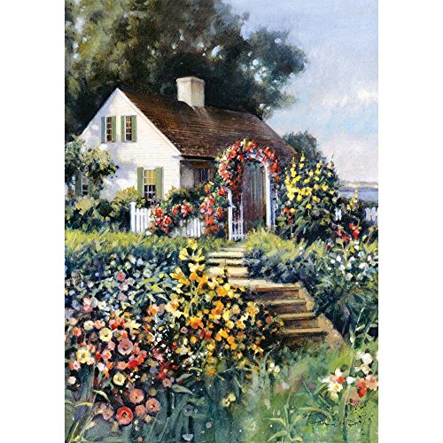 Paul Landry 300 Piece Puzzle Seaside Cottage