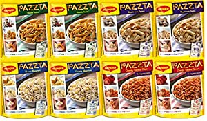 Maggi Pazzta Assorted Pack (Pack of 8)