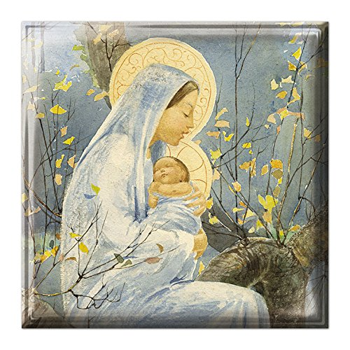 medici-christmas-cards-med8837-luxury-box-of-12-cards-madonna-child