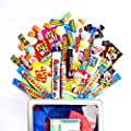 Retro Sweets Candy Gift Box - 42 Piece Hamper