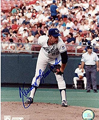 Dennis Leonard Kansas City Royals Signed Autographed 8x10 Photo W/coa