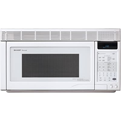 Sharp R-1871 1.1-Cubic-Foot 850-Watt Over-the-Range Convection Microwave Via Amazon