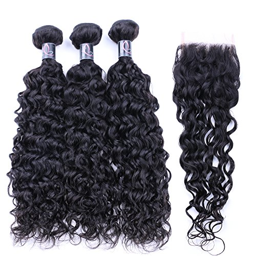 Bulanni-Hair-Virgin-Brazilian-Hair-Lace-Closure-with-3-Bundles-Hair-Natural-Weave-virgin-Human-Hair-Natural-Color