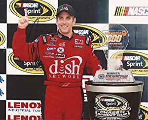 Greg Biffle Nascar Dish Network Driver Signed Autographed 8x10 Photo W COA by Hollywood Collectibles