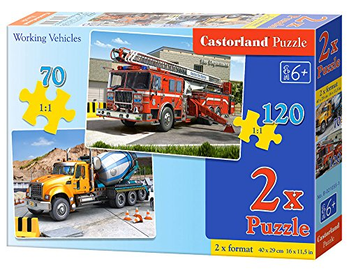 2-Puzzles-Carrier-Truck-and-Fire-Truck