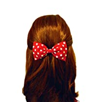 Raging Retro 40s & 50s Rockabilly Hair Bow Barrette