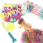 Colourful Rainbow Rubber Loom Bracele...