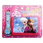 Frozen Children's Watch Wallet Set Fo...