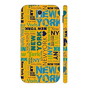 Enthopia Designer Hardshell Case New York Graffiti Back Cover for Lenovo Zuk Z1