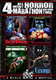All Night Horror Marathon: Volume Two (Cellar Dweller/Catacombs/Dungeonmaster/Contamination)