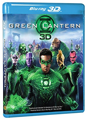 Blu-ray 3D : Green Lantern (3D) (With Blu-Ray, With DVD, Ultraviolet Digital Copy, Extended Edition, 3 Dimensional)