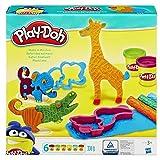Hasbro Play-Doh B1168EU4 - Safari Knetwelt
