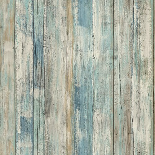 roommates-rmk9052wp-blue-distressed-wood-peel-and-stick-wall-decor