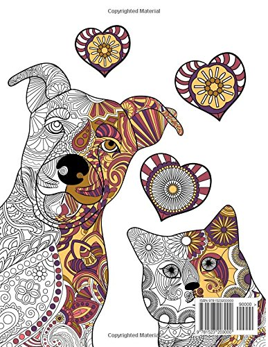 Doodle Cats & Dogs: Adult Colouring Book: Stress Relieving Cats and Dogs Designs for Women and Men - Perfect Colouring Book Gift for Adults