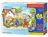Castorland Three Little Pigs Premium Maxi Jigsaw (20-Piece)