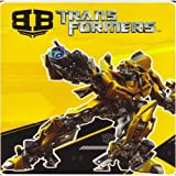 Transformers twin blanket - Bumblebee royal raschel plush throw
