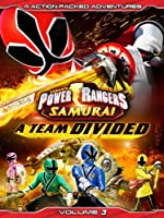 Power Rangers Samurai Volume 3 A Team Divided