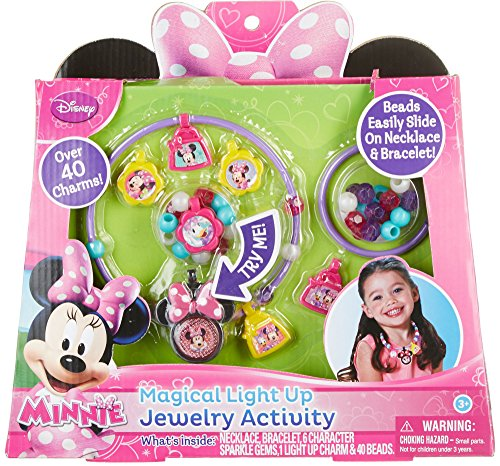 Minnie Mouse Magical Light Up Jewelry Activity - 1