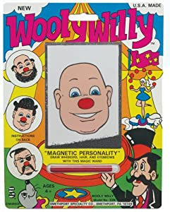 Smethport Wooly Willy Neon Toy