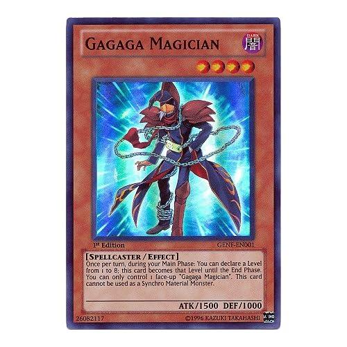 Amazon.com: YuGiOh Zexal Generation Force Single Card Gagaga Magician