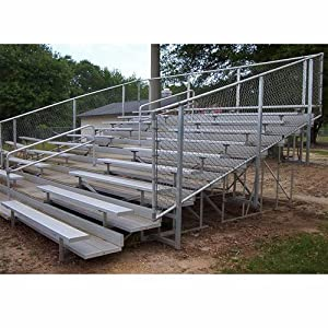 21 Preferred All Aluminum Bleachers 10 Rows from Athletic Connection