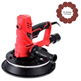 VIVOHOME 850W Electric Adjustable Variable Speed Drywall Sander Machine with Automatic Vacuum System LED Light and Dust Bag (Color: 850W Hand Held Sander)