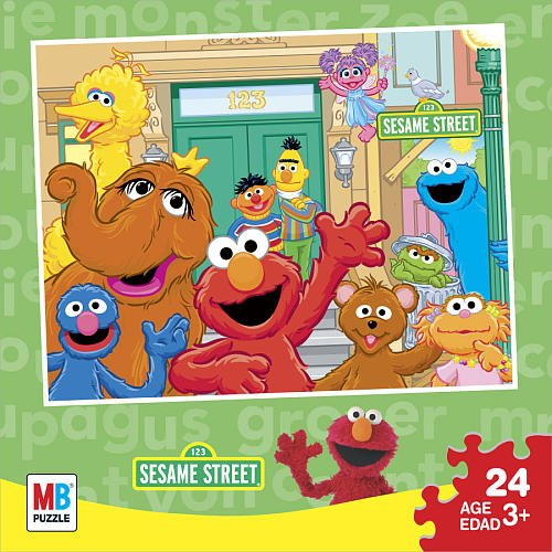 Cheap Hasbro 123 Sesame Street Puzzle (B003KA91AC)