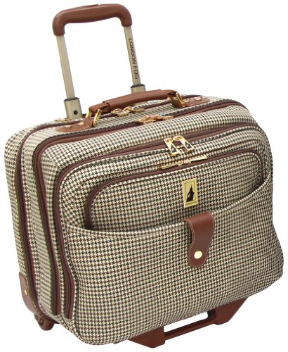 london-fog-luggage-chelsea-17-inch-computer-bag-olive-plaid-one-size