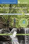 Saar-Hunsr�ck-Steig Wanderkarte Ost 1...