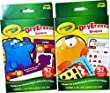 Crayola Dry Erase Learning Flash Cards ~ Colors and Shapes ~ Includes 64 Double - Sided Learning Cards