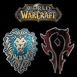 Sunshine World of warcraft Metal Badge Brooch Pin