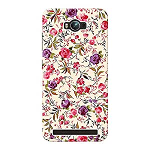 INKIF Roses Painting Designer Case Printed Mobile Back Cover for Asus Zenfone Max ZC550KL (Mutlicolor)