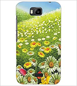 HUAWEI HONOR BEE FLOWERS Designer Back Cover Case By PRINTSWAG