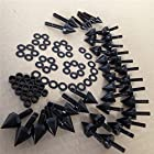 Black Spike Fairing Bolts Kit For 2003-2007 Yamaha Yzf-R6 2006-2010 Yzf R6S