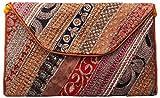 Kesaria Online Girl's Clutch ( Multicolour,Bagko112)
