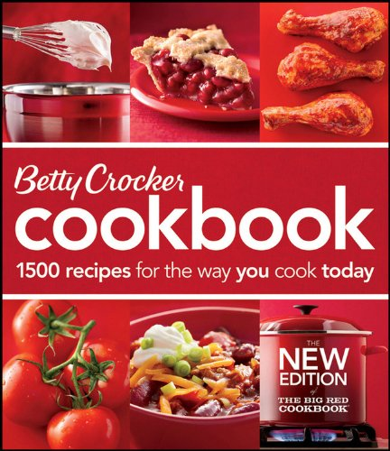 Betty Crocker Cookbook: