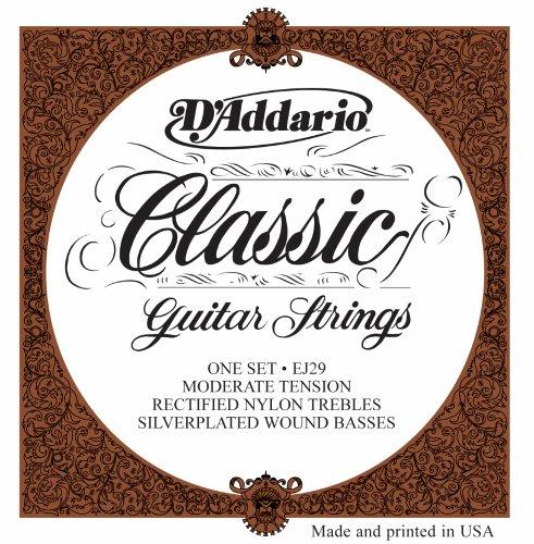 D'Addario EJ29 Classics Rectified Classical Guitar