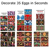 6 Packages Easter Egg Wraps (Decorate 35 Eggs)