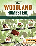 img - for The Woodland Homestead: How to Make Your Land More Productive and Live More Self-Sufficiently in the Woods book / textbook / text book
