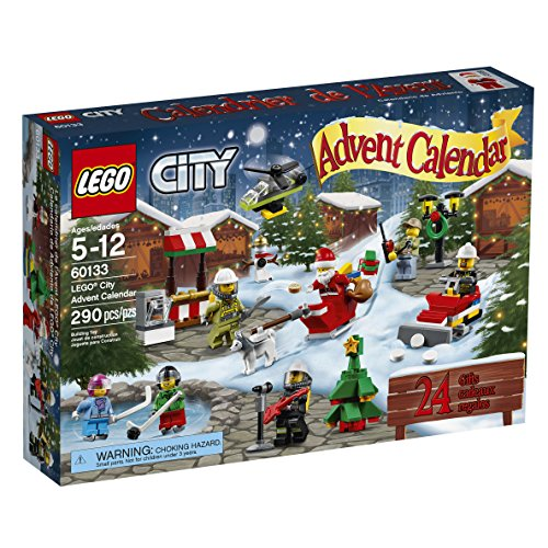 LEGO City Town 60133 Advent Calendar Building Kit (290 Piece) by LEGO