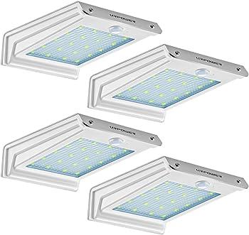 4-Pack Urpower 20 LED Outdoor Solar Motion Sensor Lights