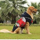 Pettom Hunderucksack Schultertasche für Hunde und Katzen Reisen Camping Wandern Transportbox Haustiertasche tragbar Tasche Best Waterproof Breathable Quick Release Carriers S / M / L -
